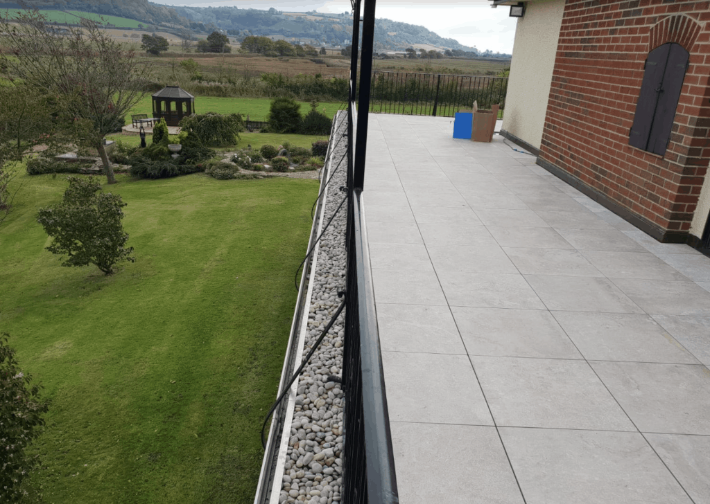 Balconies & Roof Patios Exeter Devon - Ballasted Roofs