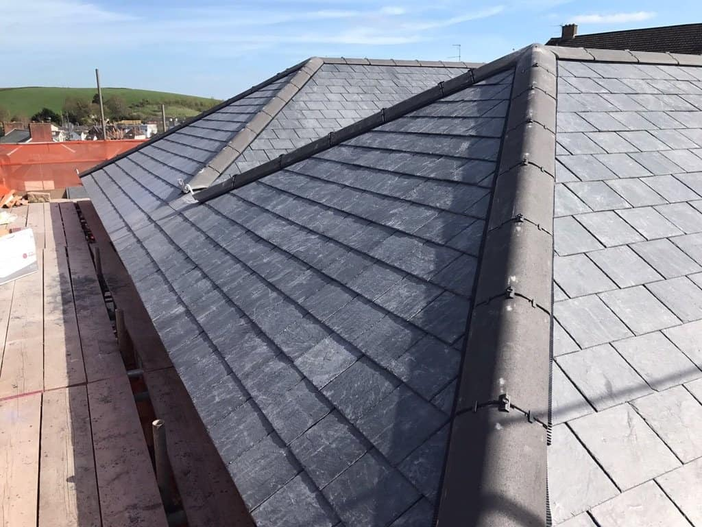 Pitched Roofing Exeter Devon - Re Roofing - SPS Roofing Ltd