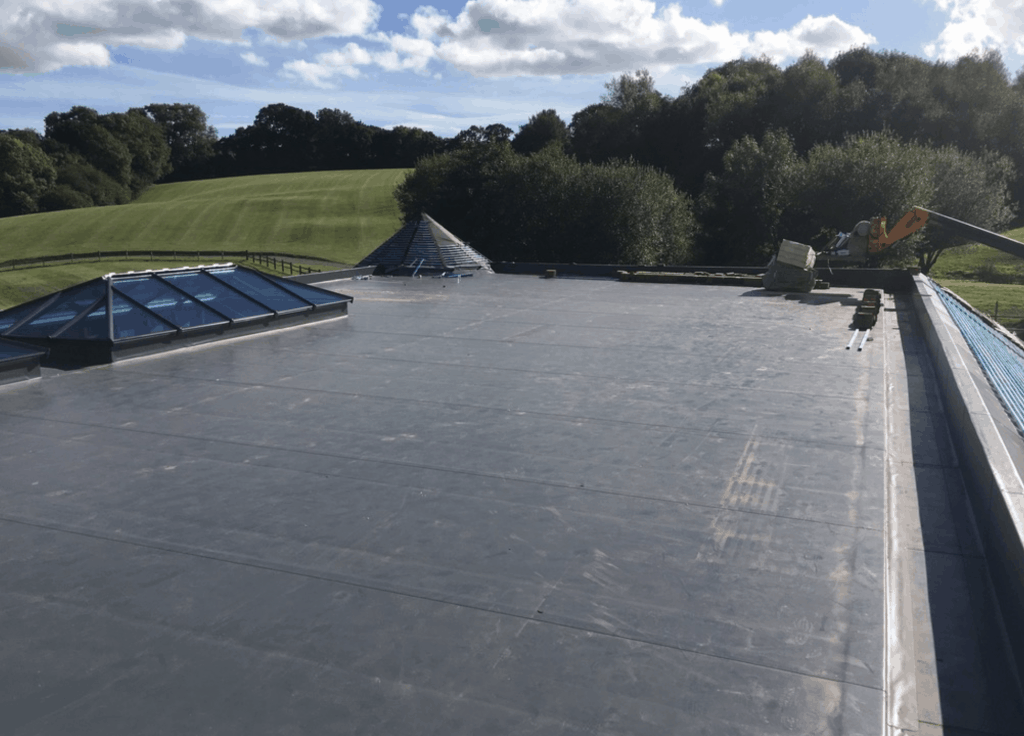 Flat roof replacement costs