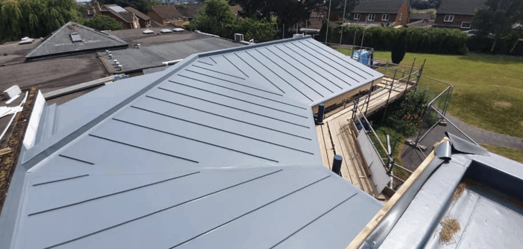 Flat Roofing System - SPS Roofing Ltd