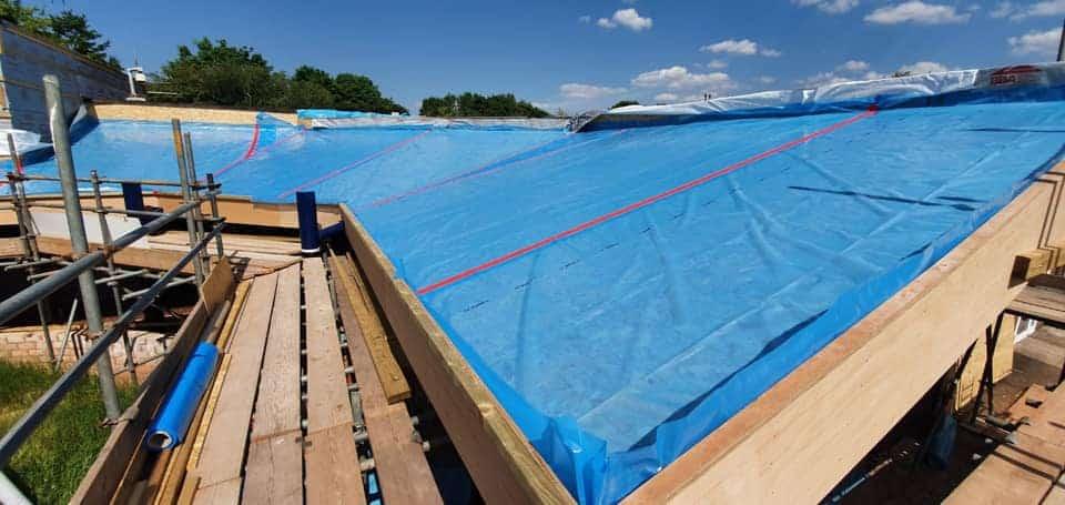 Interstitial Condensation Roof Repair