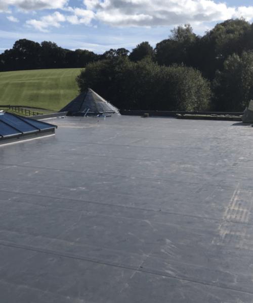 Garage Flat Roof Repair Exeter
