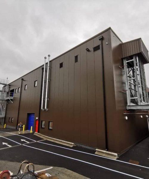 Industrial Cladding Exeter & Devon - SPS Roofing Ltd